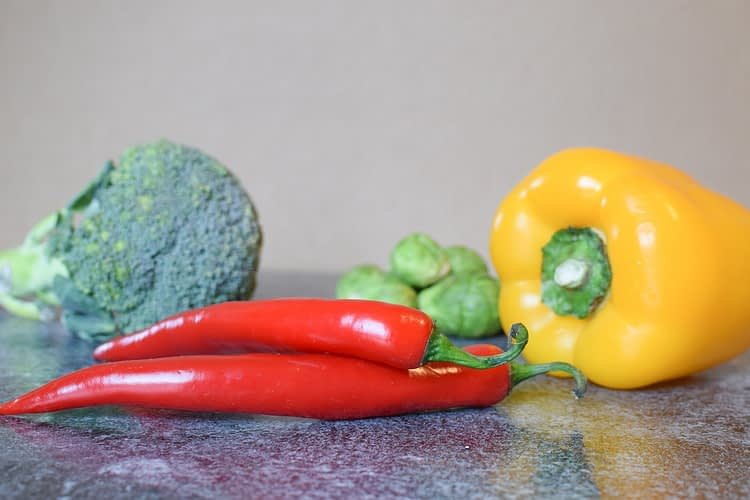 Chili Bell Pepper Broccoli - ugglemamma / Pixabay