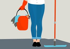 Housekeeping Clean Service Floor  - mohamed_hassan / Pixabay