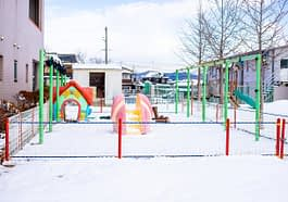 Playground Village Snow Winter Ice  - DoanKien / Pixabay