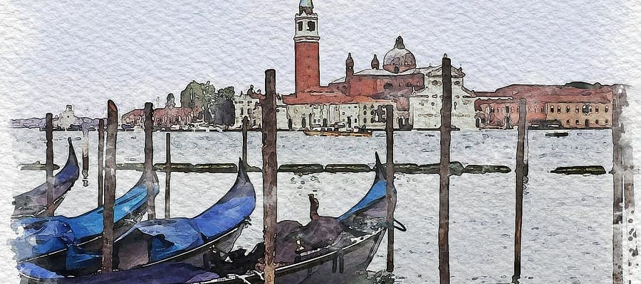 Boats Canal Port Waterway Gondolas  - Camera-man / Pixabay