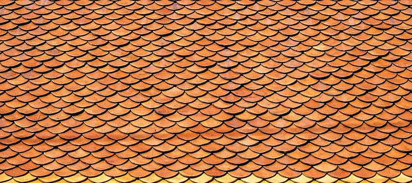 Roof Roof Tiles Scales Antique Art