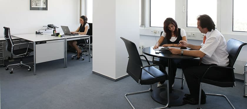 Office Furniture Colleagues Staff