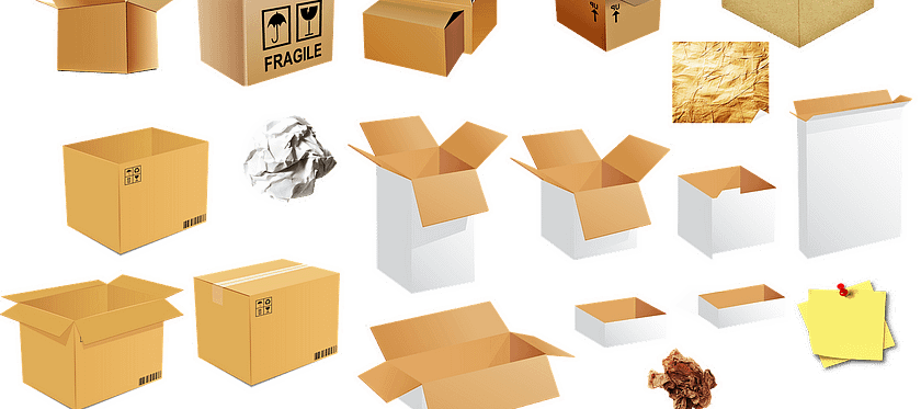 Moving Boxes Box Package Carton