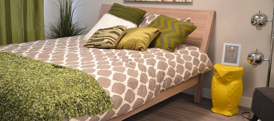Bedroom Bed Pillows Headboard