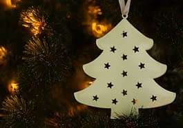 Christmas Tree Christmas Decoration  - MarjonBesteman / Pixabay