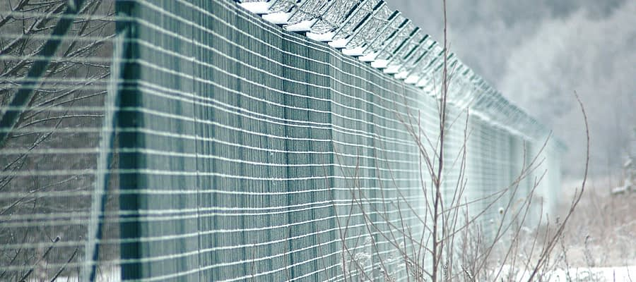 Winter Fencing Security Barrier