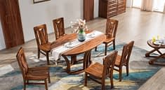 Furniture Dining Table Dining Chairs  - 曹俊 / Pixabay
