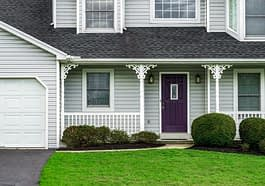 House Suburban House Purple Door  - jatocreate / Pixabay